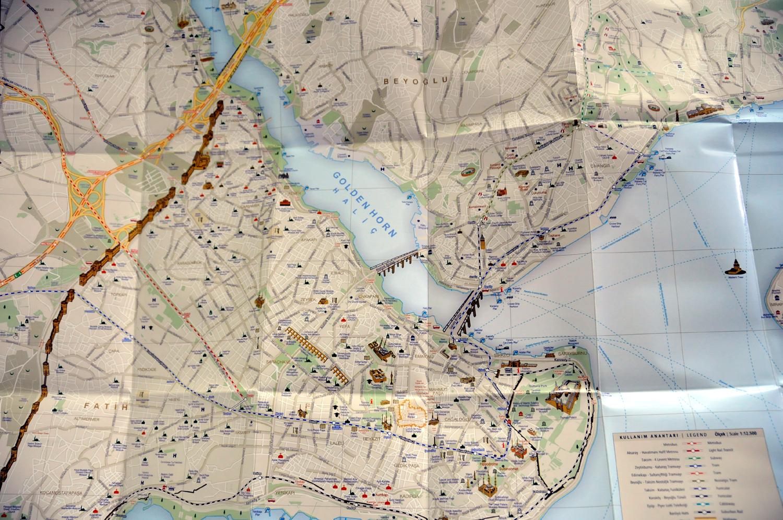 istanbul harita